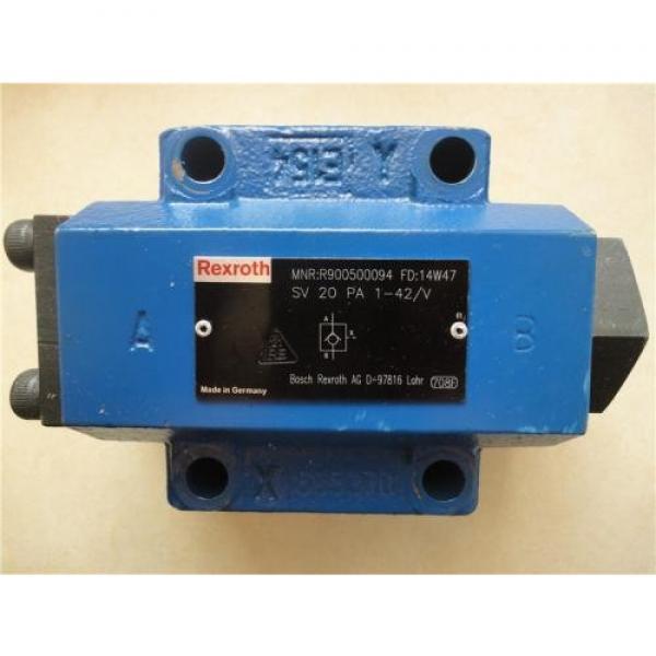 REXROTH 3WE 6 A6X/EG24N9K4/B10 R900930079 Directional spool valves #1 image
